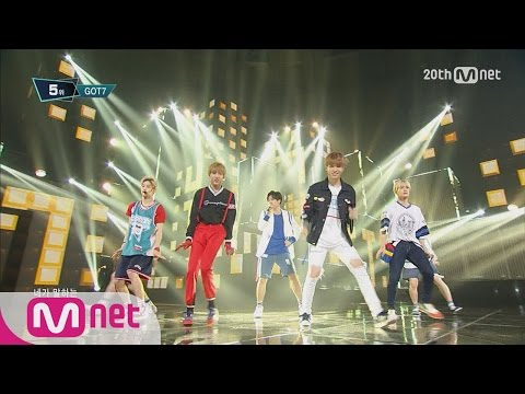 GOT7(갓세�) - 'Just right(딱좋아)' M COUNTDOWN 150723 EP.434