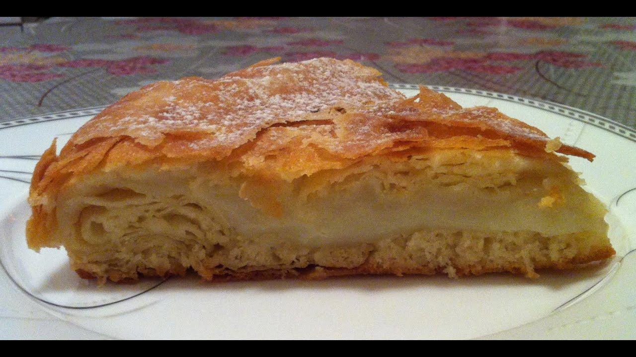 Египетский пирог пошаговый рецепт