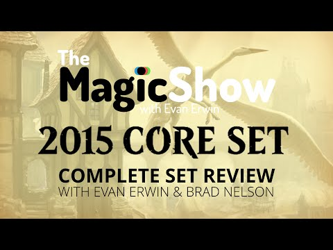 Magic The Gathering Core Set 2015 Complete Set Review - White!