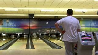 Bowling on my Birthday! From Striker's East, Raymond, NH 9/20/14 (1/2)