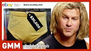 Weirdest WWE Items On eBay Ft. Dolph Ziggler (GAME)
