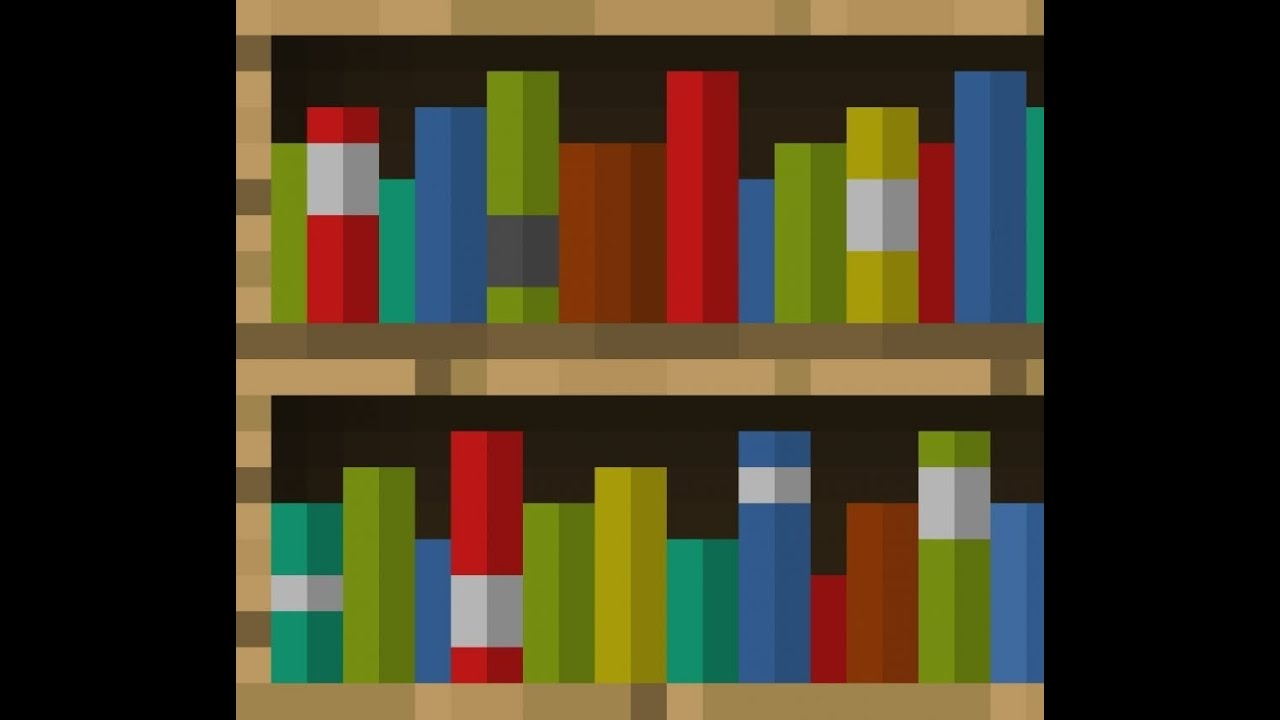 How do u make a bookshelf in minecraft minecraft how to for 10 ways to make a secret door in minecraft