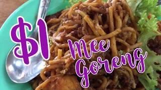 Penang Street Food Cheap Eats: Mee Goreng $1