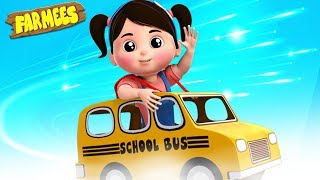 Hello Mr Taxi | Nursery Rhymes For Children | Learning Videos & Song By Farmees