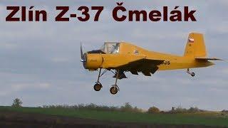 Zlin Z-37 Cmelak, scale RC aircraft, 2017