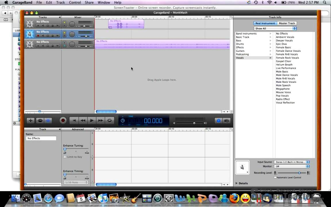 how to put youtube video on garageband