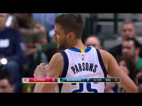 Chandler Parsons vs Los Angeles Clippers 07.03.2016 (9Pts)