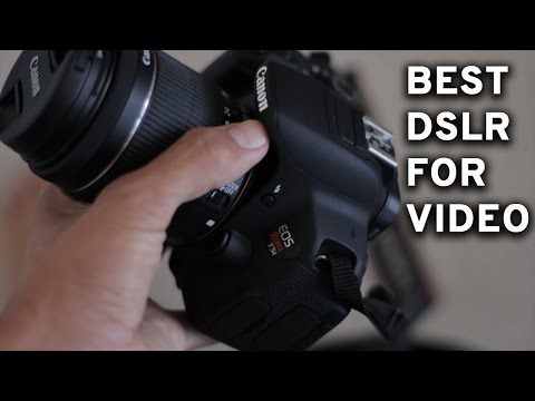 Best Budget YouTube DSLR 2016: Canon T5i Review