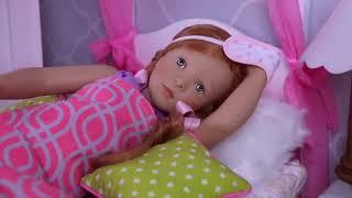 Sara doll👩🌾 reina dolls play funny😜 jokes in the dollhouse bathroom #2