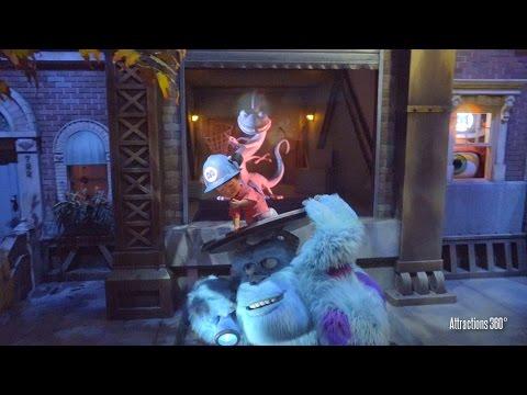 [4K] Interactive Monsters Inc. Ride & Go Seek! - BEST Ride at Tokyo Disneyland