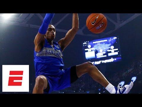 Kentucky basketball Big Blue Madness dunk contest highlights | College Basketball thumbnail