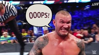 WWE Superstars Go Off Script Breaking Character LIVE!