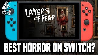 Best Horror Game on Switch?! - Layers of Fear Legacy Switch Gameplay
