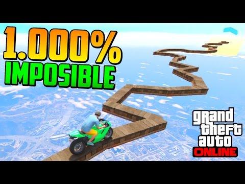 1.000% IMPOSIBLE!! ME TIEMBLAN LAS MANOS!! - Gameplay GTA 5 Online Funny Moments