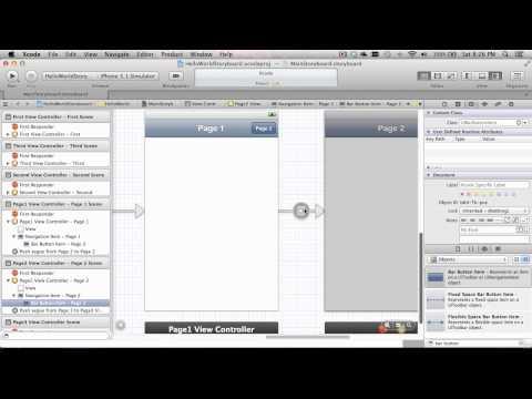 MonoTouch iPhone Storyboard w/Tab Bar and Navigation Bar Part 2
