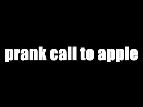 prank call to apple support ( ͡º ͜ʖ ͡º)