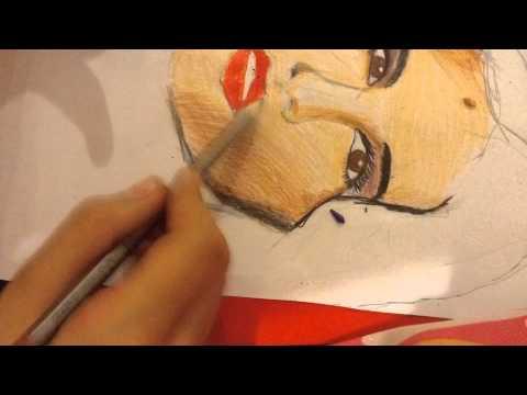Drawing Selena Gomes