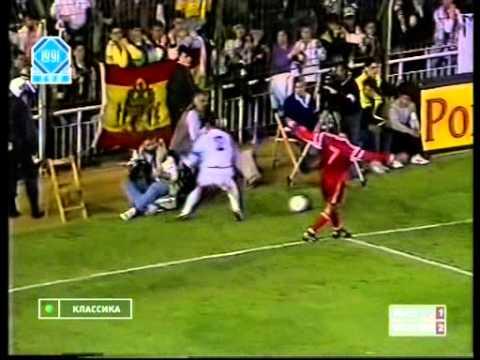 Кубок Чемпионов 1990-1991гг.   Реал Мадрид - Спартак   1/4 финала, ответный матч