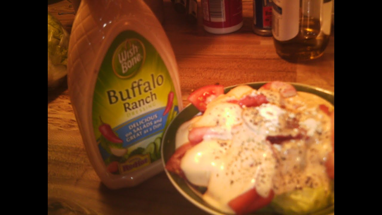 Buffalo Salad Dressing Wish-bone Buffalo Ranch Salad