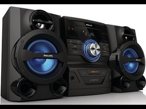 Mini System PHILIPS FWM210 Hi-Fi - Como instalar aparelho de som no PC