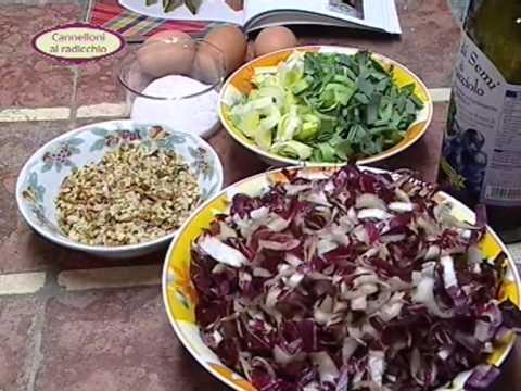 In cucina con Ester Mozzi: cannelloni al radicchio e tortino di patate ...