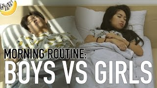 Morning Routine: Boys vs Girls