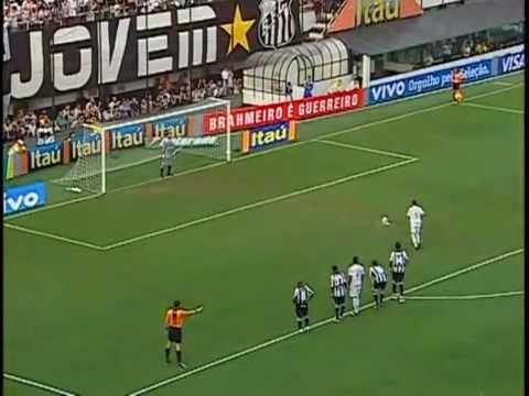 Paradinha dupla Neymar - Pênalti que fez outra vítima.