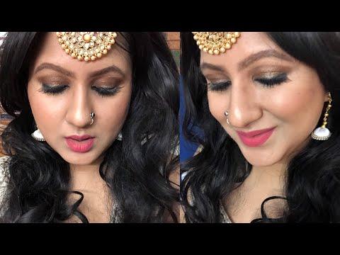 Bela Naagin 3 Surbhi Jyoti inspired makeup tutorial in hindi / Step by Step affordable makeup