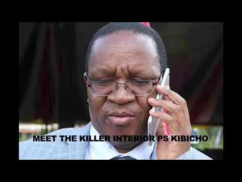 Interior PS Karanja Kibicho Threatens To Kill Mike Sonko