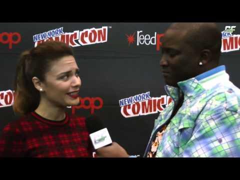 Constantine Angélica Celaya New York Comic Con Interview