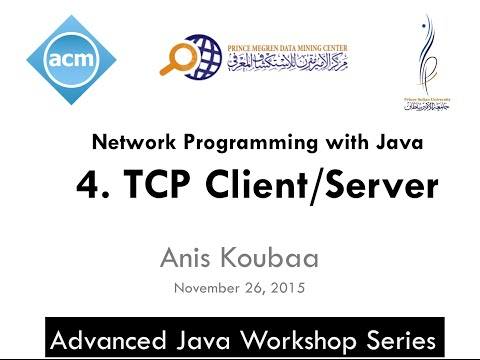 [Java Workshop Series] Java Network Programming : TCP Client/Server