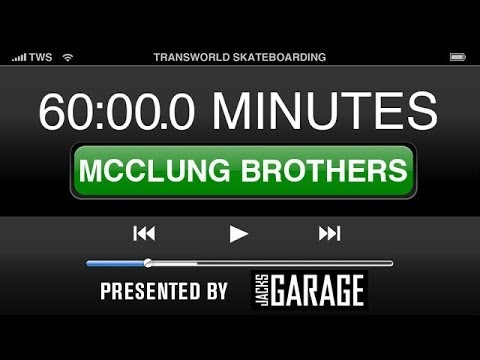 60 Minutes In The Park presented by Jack's Garage: The McClung Brothers