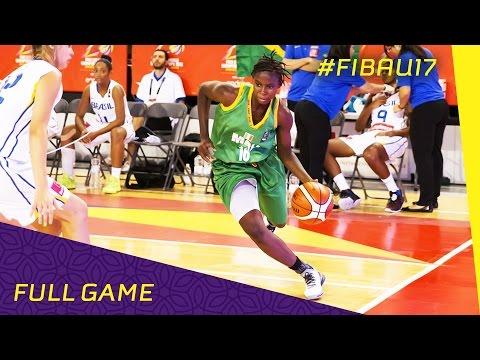 Brazil v Mali - Full Game - 2016 FIBA U17 Women's World Championship