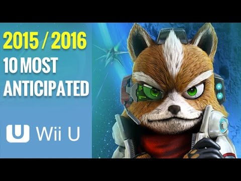 Top 10 Most Anticipated Upcoming Wii U Games 2015 - 2016 HD