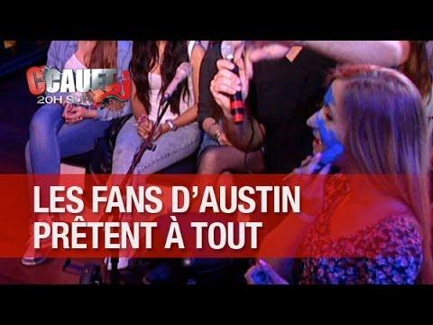 Les fans d'Austin Mahone prêtent à tout pour un câlin ! - C'Cauet sur NRJ