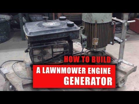 DIY Lawnmower Generator I