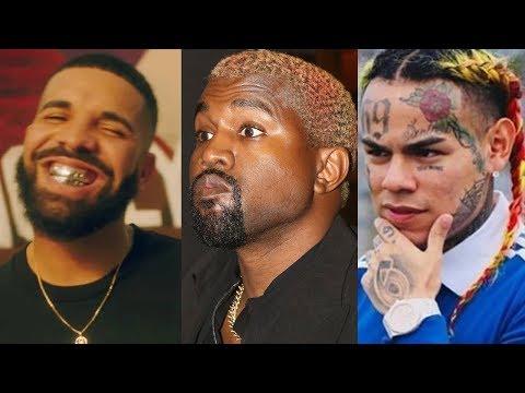 Drake AMENAZA a KANYE WEST y ÉL MENCIONA a 6IX9INE (BEEF) | KIM KARDASHIAN se METE | BRAYAN TRAP MP3