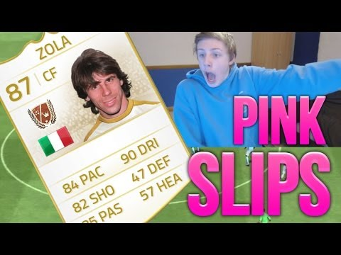 FIFA 14 NEXT GEN LEGEND ZOLA PINK SLIPS – Ultimate Team LIVE