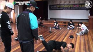 [ULJU WORLD HIP-HOP CAMP] DAY-1, 2 B-BOY WORK SHOP