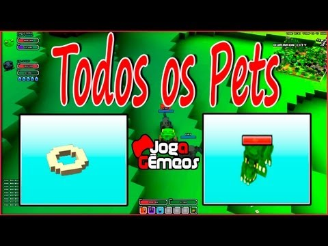 Cube World - Todos Pets e Itens. Pet Food X Pets Let's Play