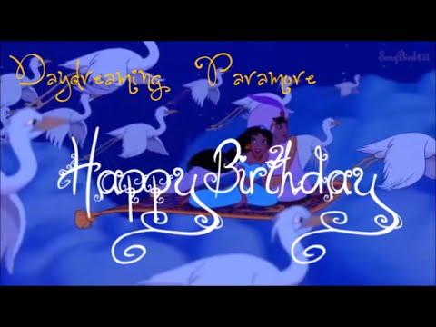 Daydreaming amv Happy Birthday Wolfie