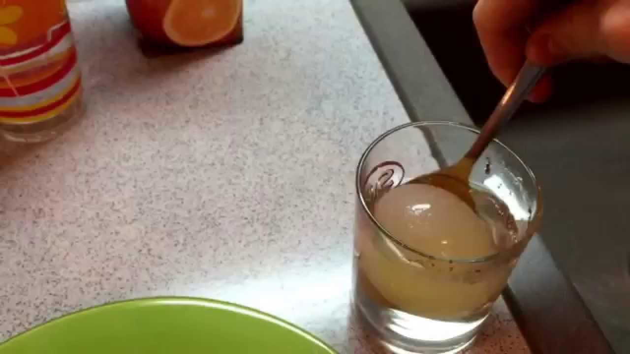 Как сделать уксусное яйцо