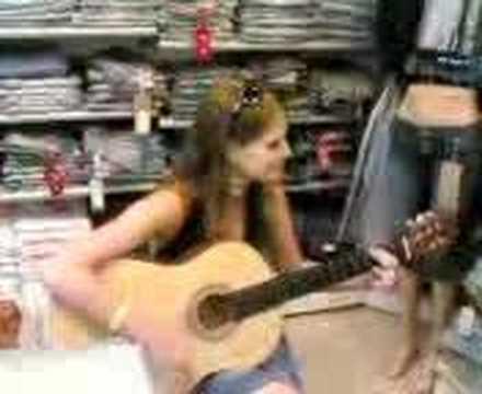 rus kız gitar