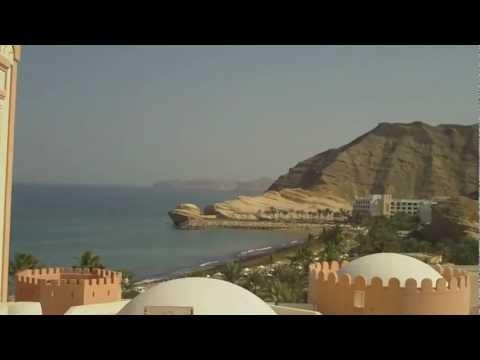 Oman Landscape around Muscat, Al Bustan, Shangri La  Bar Al JissahHD