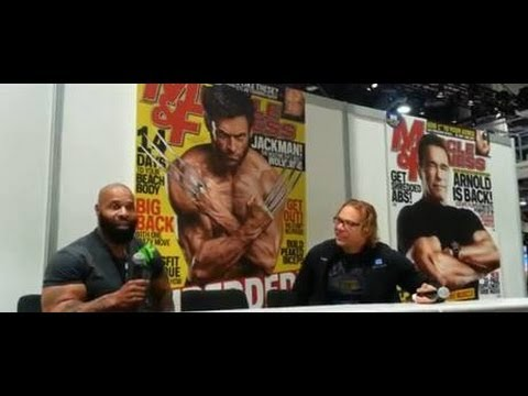 CT FLETCHER, MUSCLE & FITNESS RAW (OLYMPIA 2013 EXPO w/MusclePharm)