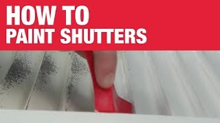 How To Paint Shutters - Ace Hardware