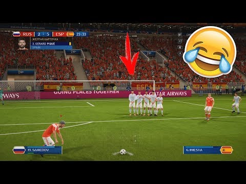 ГИГАНТСКИЕ ВОРОТА НА ЧЕМПИОНАТЕ МИРА | РЕЖИМ WORLD CUP 2018