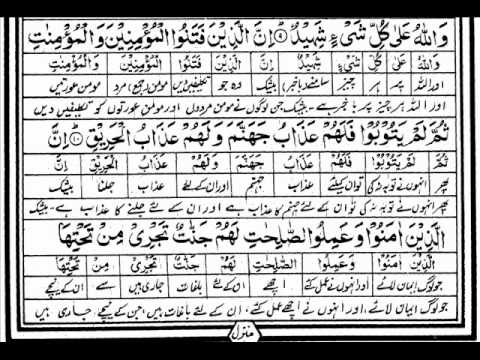 Tilawat-e-Quran Para 30 by Mishary Rashid with written urdu...