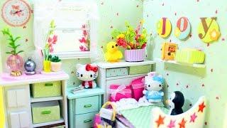 🏡 Cuteroom DIY Wooden Dollhouse The Wizard of Oz Girl Room  - Kit from Banggood - simplekidscrafts