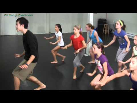 Hip Hop Dance Lesson - Contemporary Hip Hop Steps And Moves Dance Workshop video